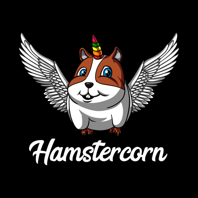 Hamstercorn Hamster Unicorn Magical Pet
