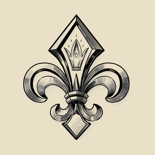 royal fleur de lys fleur de lys t shirt teepublic. Black Bedroom Furniture Sets. Home Design Ideas