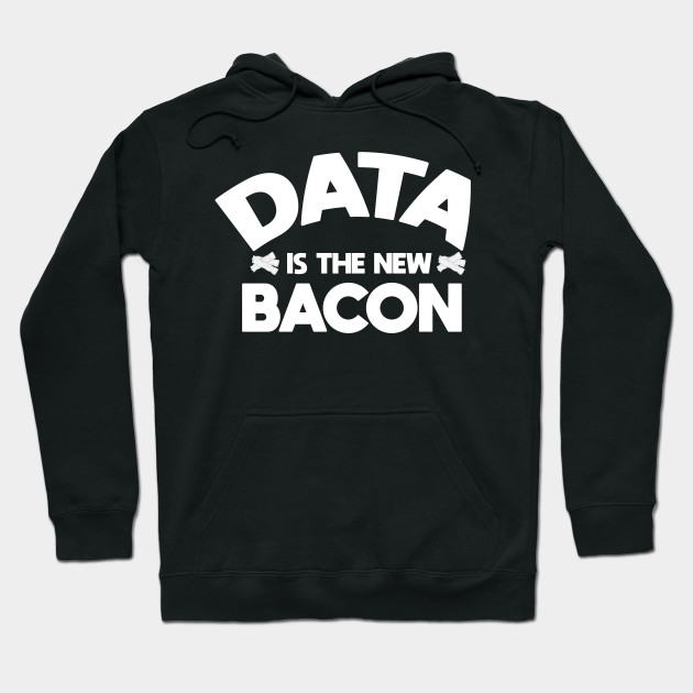 Computer Big Data Bacon Data Science Apparel Hoodie