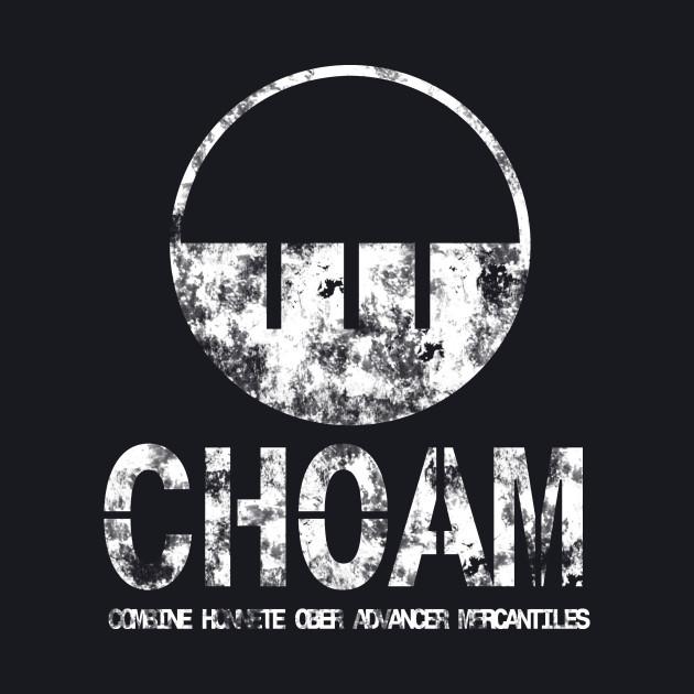 Choam logo white