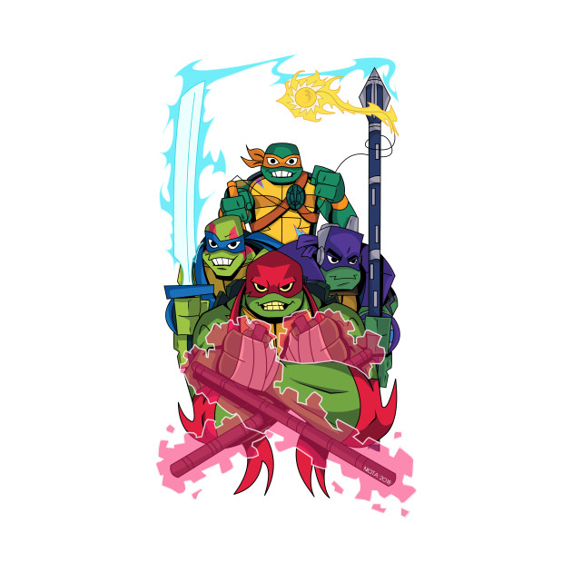 Rise of the new Turtles