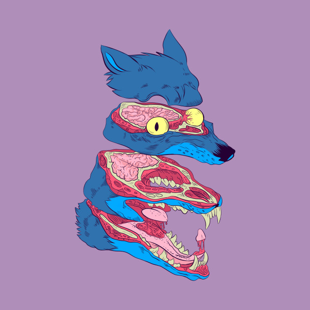 Dissected Wolf