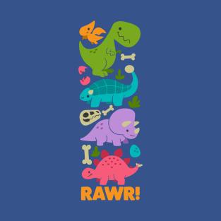 Lil Dinos! t-shirts