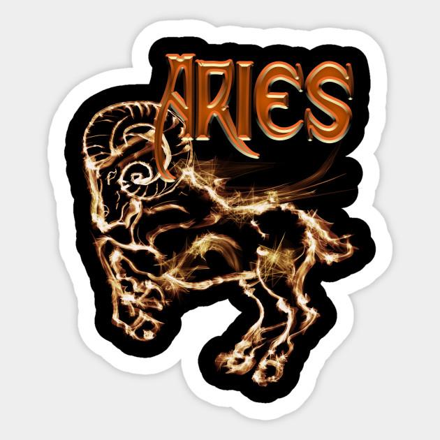 Aries Ram Astrology art design
