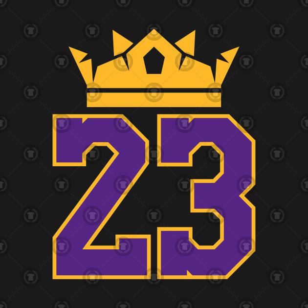 c82d3e88c27 King James Lakers 23 - Lebron James - Tapestry   TeePublic