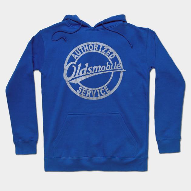 Oldsmobile Vintage Service Adult Crewneck Sweatshirt