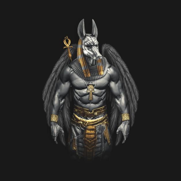 Anubis Egyptian God Of Death Death T Shirt Teepublic