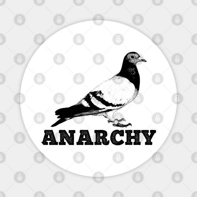 Anarchy 1 pin or magnet