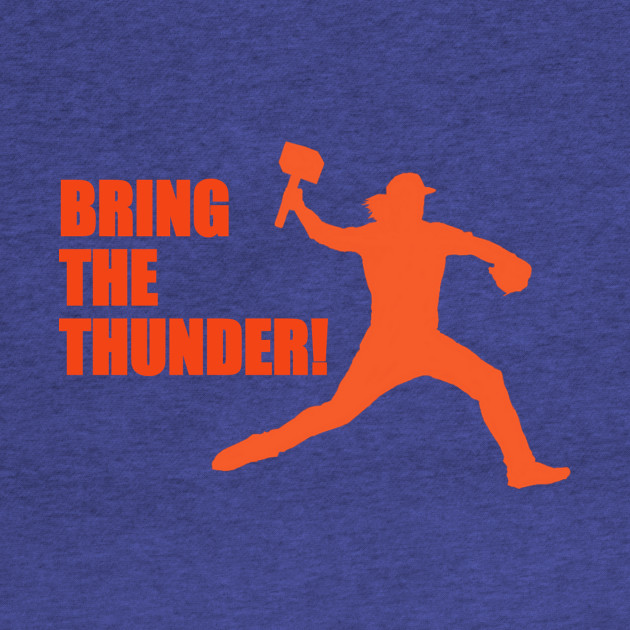 "NY METS Syndegaard ""BRING THE THUNDER"""