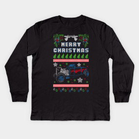 Hot Rod Lovers Ugly Christmas Sweater - Vintage - T-Shirt | TeePublic