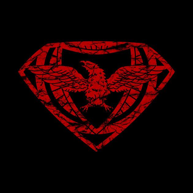 EagleMan Crest (Red)