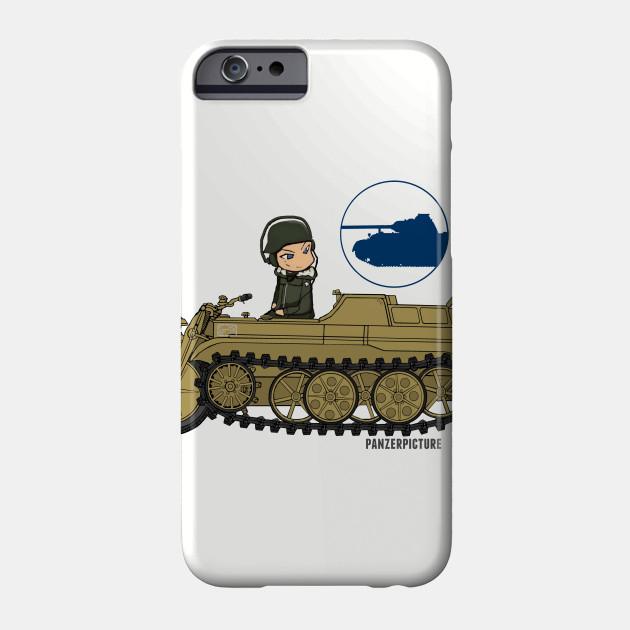Panzer Picture Ketten T-Shirt