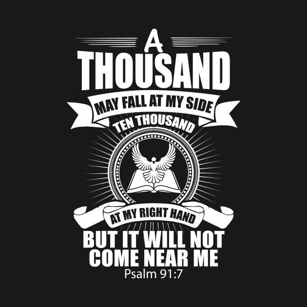 Psalm 91:7 Christian Gift