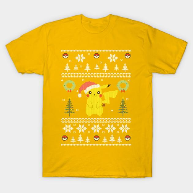 Ugly Christmas Sweater Pokemon Starter , Yellow