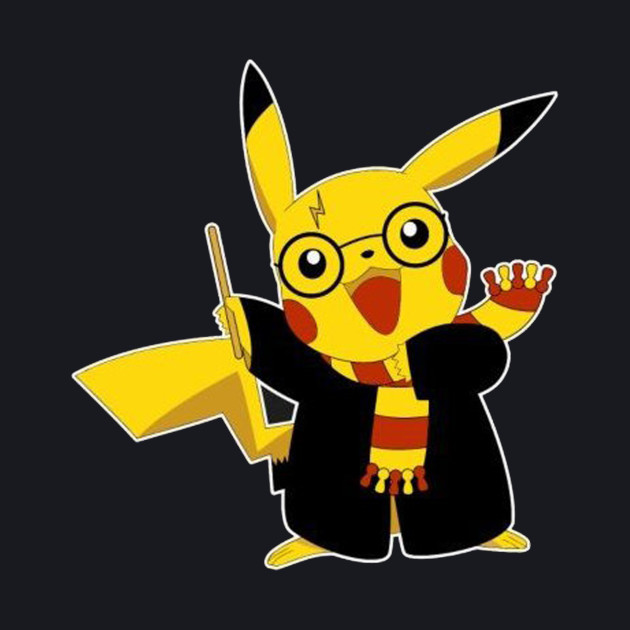 Pikachu Harry Potter Pokemon