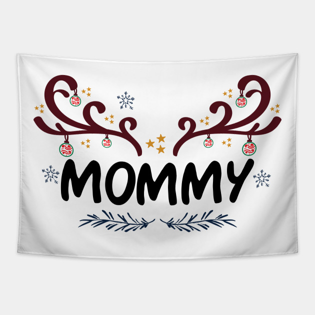 Christmas Matching Family Mommy  Reindeer