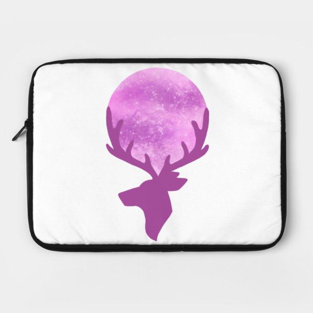 Pastel Pink Space Deer