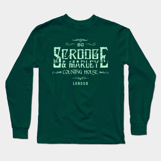 SCROOGE /& MARLEY /'A Christmas Carol/' T SHIRT Charles Dickens