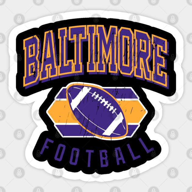 Vintage Baltimore Football