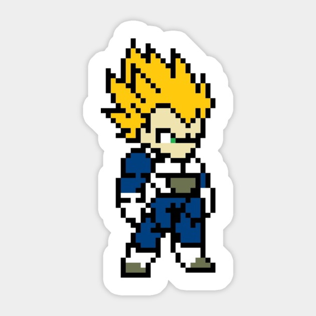 Super saiyan vegeta sticker super saiyan vegeta super saiyan vegeta 260789 2