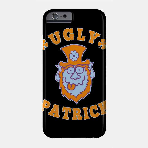 Ugly Patrick St. Patrick's Day beer Phone Case