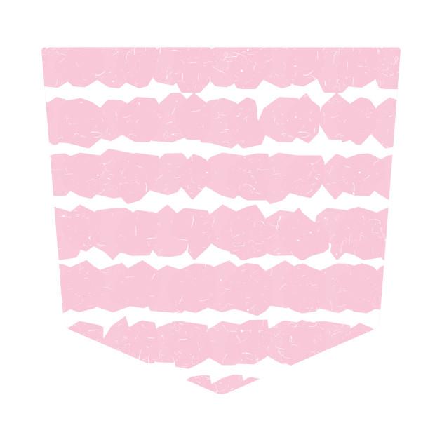 Pocket - Geometric Lines Pink
