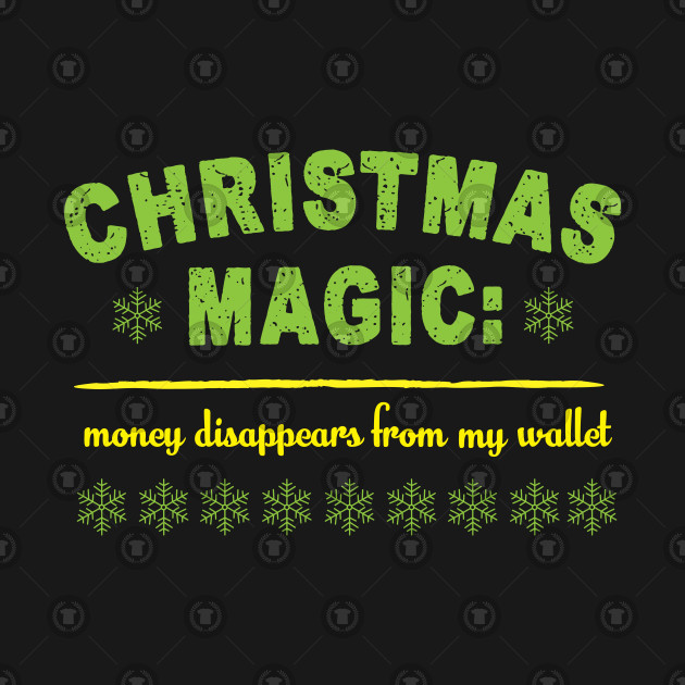 Christmas magic: Money disappears from my wallet
