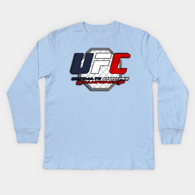 58ae21f5ff11 Ultimate fighting championship tee-shirt Kids Long Sleeve T-Shirt