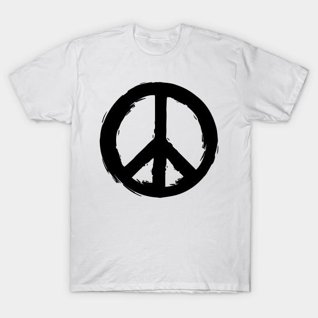Peace Symbol Peace T Shirt Teepublic