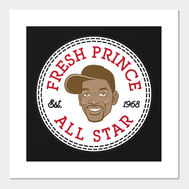 537340025e63 Fresh Prince Will Smith All Star Converse Logo Posters and Art Prints