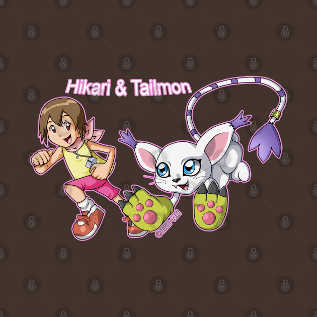 Hikari & Tailmon