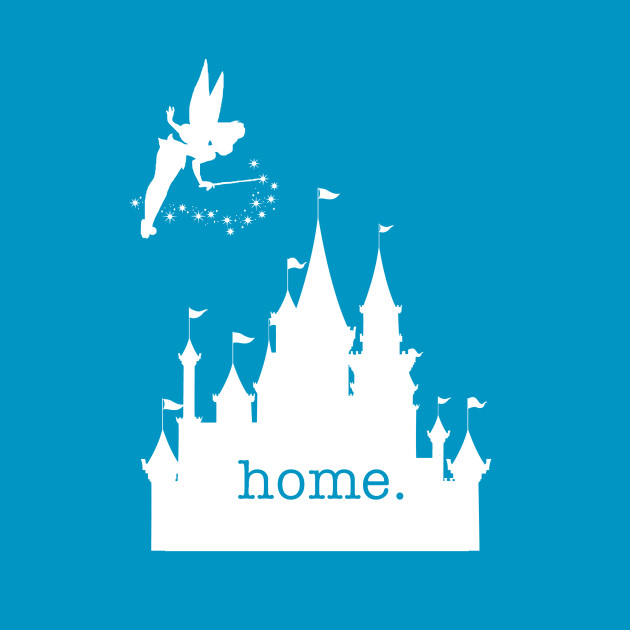 Castle Home shirt with Tinkerbell