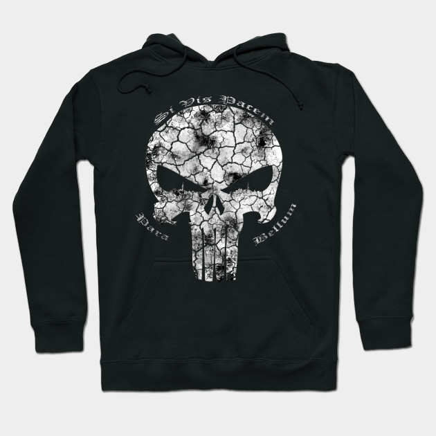 Sweat-shirt The Punisher Marvel Si Vis Pacem Para Bellum