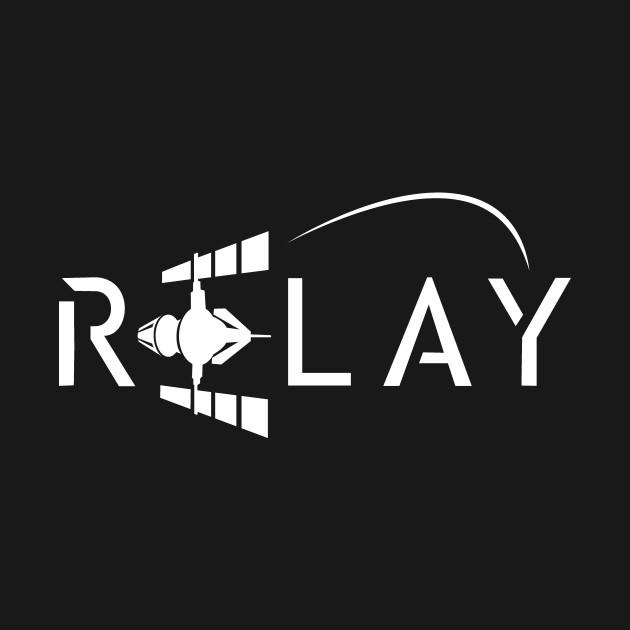 Relay Logo - White