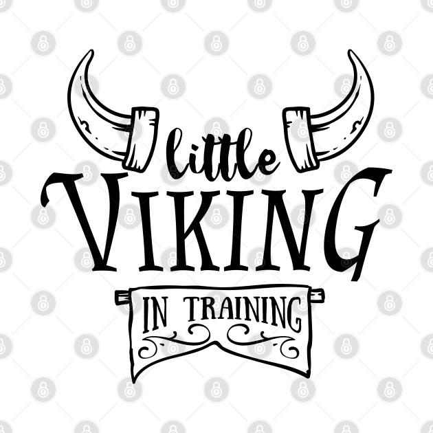 Little viking in training