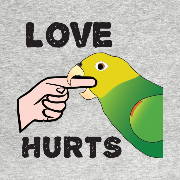 Love Hurts - Double Yellow Headed Amazon Parrot