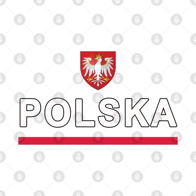 Polska National Eagle Jersey Style