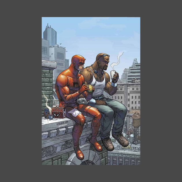 Team Up: Luke Cage & Daredevil