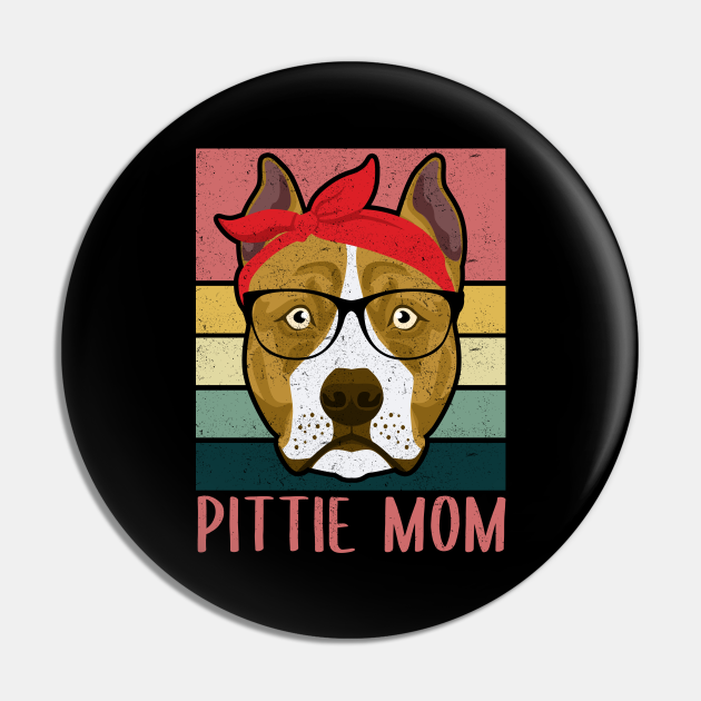 Pittie Mom | American Pit Bull Terrier Owner Gift