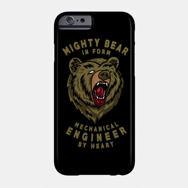 Mighty Bear Mechanical Engineer Gift