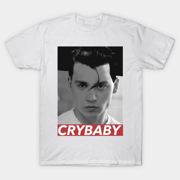 1acc42ba CRY BABY - Cry Baby Johnny Depp - T-Shirt | TeePublic