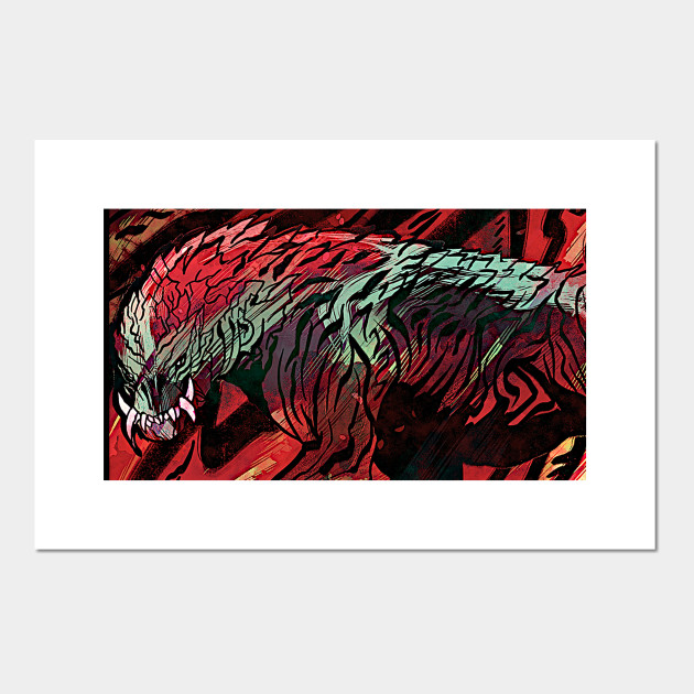 Monster Hunter Odogaron Monster Hunter Posters And Art Prints