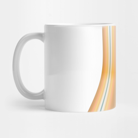 Striped canvas round Mug
