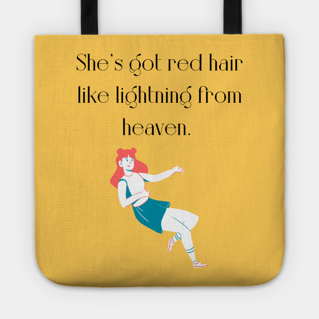 Red hair girl quote