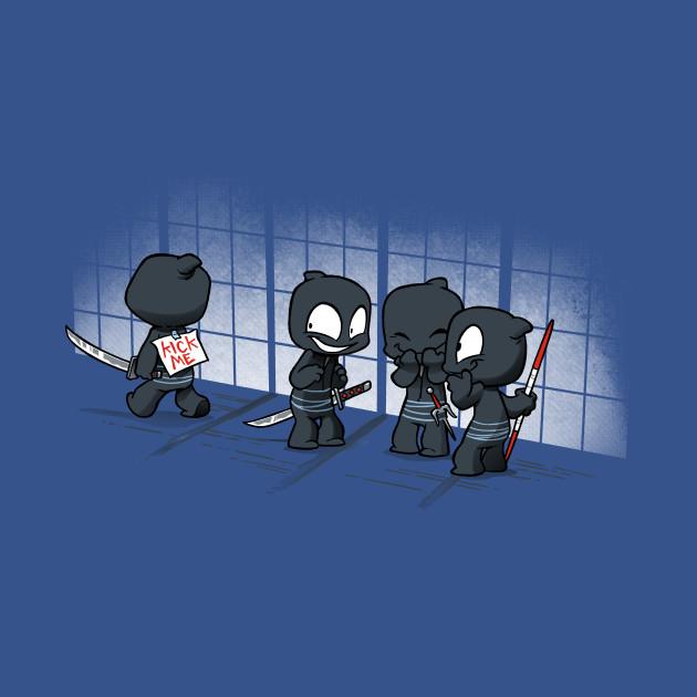 Oblivious Ninja: Bullies
