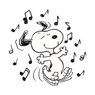 Dancing Snoopy t-shirts
