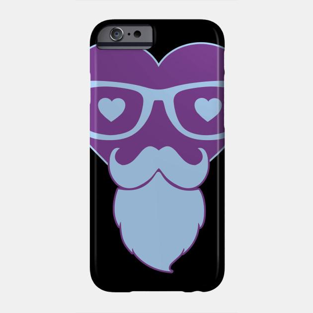 Hipster Heart Love Love Valentine's Day Phone Case