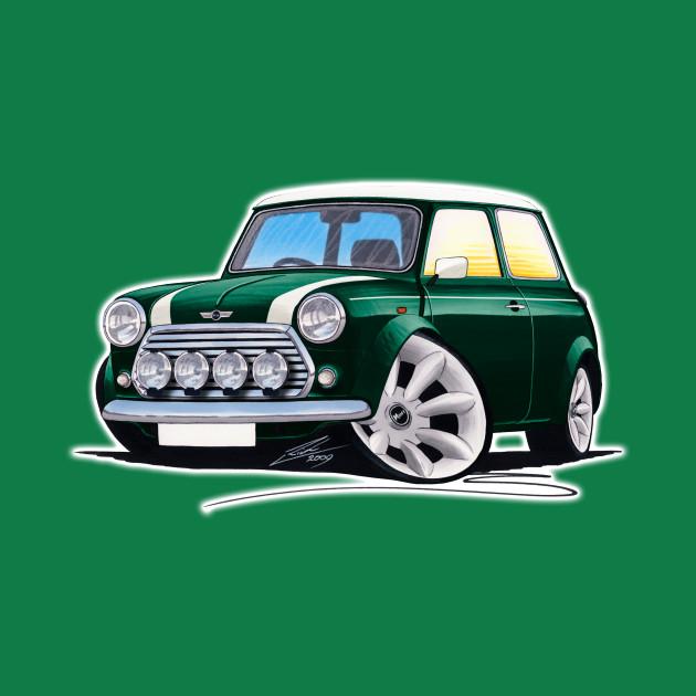 Rover Mini Cooper Sport British Racing Green Mini Cooper Onesie