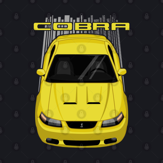 Mustang Cobra Terminator 2003 to 2004 - Yellow