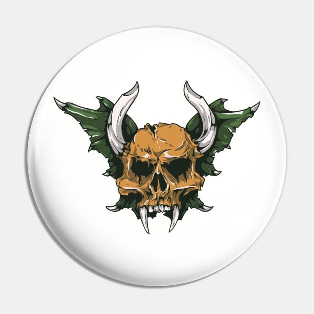 Demon Skull Horns